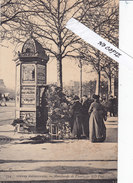 Paris II (2 Iem), Boulevard, Marchande De Fleurs, Serie Scènes Parisiennes 754 - Artigianato Di Parigi
