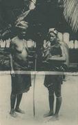 POSTAL DE GUINEA ESPAÑOLA PLAYERAS DE BATA (EXPO IBERO-AMERICANA SEVILLA 1929) - Guinea Ecuatorial