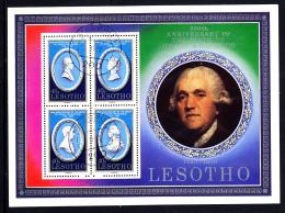 Lesotho Used 1980 #301 Josiah Wedgwood 250th Birth Anniversary