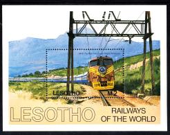 Lesotho MNH 1984 #458 2m The Blue Train 1972 - Lesotho (1966-...)
