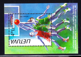 Lithuania MNH 1996 #557 4.20 L Basketball 1996 Summer Olympics - Lituanie
