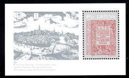 Lithuania MNH 1997 #566 4.80 L First Lithuanian Book 450th Anniversary - Lituanie