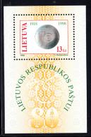 Lithuania MNH 1998 #612 80th Anniversary Lithuanian Post Hologram - Lithuania