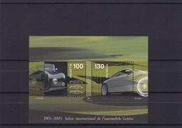 2005 Sonderblock  Autosalon.  Mi. Bl. 38** - Blocs & Feuillets