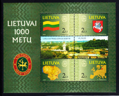 Lithuania MNH 2001 #697 1000th Anniversary In 2009 - Lituanie