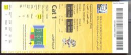 Football FIFA U-17 WORLD CUP UAE 2013 CROATIA Vs PANAMA TICKET - Tickets D'entrée