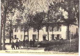 Carte Postale Ancienne De BLAYE - Blaye