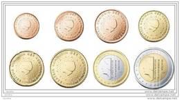 @Y@  Nederland    Serie  2013   1 Ct - 2 Euro   UNC  8  Munten - Netherlands