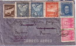 CHILI - SUPERBE AFFRANCHISSEMENT POUR LA FRANCE - LE 14-4-1937. - Chili