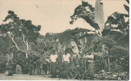 POSTAL DE GUINEA ESPAÑOLA DE LOS ALREDEDORES DE MOMBE (EXPO IBERO-AMERICANA SEVILLA 1929) - Guinea Ecuatorial