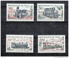Mali 1972 **, Loks, Mit Kaktus Cereus + Opuntia Sp. / Mali 1972, MNH, Locomotives, With Cactus Cereus + Opuntia Sp.