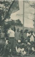 POSTAL DE GUINEA ESPAÑOLA DE INDIGENAS DE SENYE BAJO EL PABELLON ESPAÑOL (EXPO IBERO-AMERICANA SEVILLA 1929) - Guinea Ecuatorial