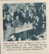 Klein Knipsel (7 X 7,5cm) De Stad Antwerpen 1935: Vlaamsche Kermis Te Niel - Niel