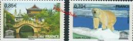 SERVICE UNESCO 144 à 145 De 2009  NEUFS  ** - Neufs