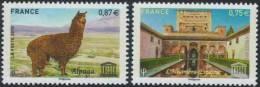 SERVICE UNESCO 148 à 149 De 2010 NEUFS  ** - Mint/Hinged
