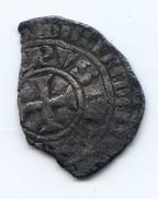 Gros Tournois à L'O Rond De Philippe IV Le Bel 1285-1314 - 987-1789 Monete Reali