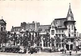 54 - NANCY : Agence BNP Banque Nationale De Paris - Square St Jean - CPSM Dentelée N/B GF 1957 - Meurthe Et Moselle - Nancy