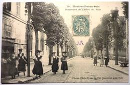 BOULEVARD DE L'HOTEL DE VILLE - MONTREUIL SOUS BOIS - Montreuil