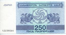 Billet Neuf De 250 Laris De Géorgie, 1993 - Géorgie