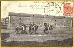 1911 REUS - Carte Peu Courante PLAZA De Los CUARTELES Cavaliers Militaires - Espagne