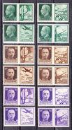 1942 PROPAGANDA DI GUERRA Serie Completa NUOVO - 1900-44 Vittorio Emanuele III