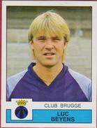 Panini Football Voetbal 88 1988 Sticker Autocollant Club Brugge Nr. 109 Luc Beyens - Sports