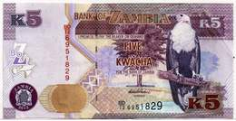 ZAMBIA 5 KWACHA 2012 VF - Zambia