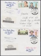 2006-CE-20 CUBA 2006 SPECIAL CANCEL. AJEDREZ CHESS JOSE RAUL CAPABLANCA. CAPABLANCA IN MEMORIAM. - Cartas