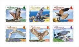 ALDERNEY 2008 - Faune, Oiseaux Rapace -  6v Neufs  (MNH Set) - Alderney