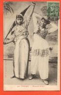 IAH-23 Tunisie Danseuses Arabes. Circulé - Tunisia