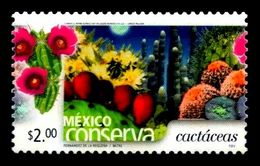 Mexico Conserva Sc 2258 $2.00 Cacti,  Type I Cactus Flowers Dessert - México