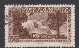 Vietnam South 65 1951 Definitive Views 60c Sepia Used - Vietnam