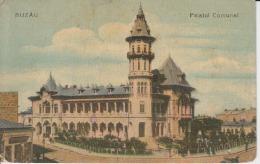 """Romania,Rumanien,Roumanie - Buzau - Palatul Comunal - """"Beraria Azuga"""" Brewery, Brasserie - Romania"""