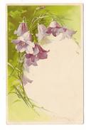 FLEURS  ( Glycines Ou Orchidées ) , Par Catharina  KLEIN  /  Edit.  MEISSNER  &  BUSCH , Leipzig  ( Serie  N° 1195 ) - Klein, Catharina