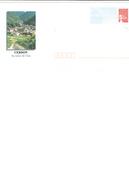 Enveloppe Entier Postale Neuve De FRANCE - CERDON [Ain] - Village / Montagne / Vigne