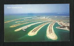 United Arab Emirates UAE Dubai Picture Postcard Palm Islands Dubai View Card - Dubai