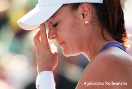 [ T95-004   ]  Agnieszka Radwańska , Poland Tennis Player , China Pre-stamped Card, Postal Stationery - Tennis