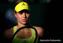 [ T95-005   ]  Agnieszka Radwańska , Poland Tennis Player , China Pre-stamped Card, Postal Stationery - Tennis