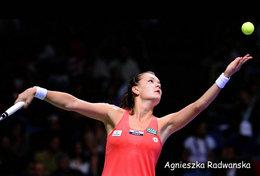 [ T95-006   ]  Agnieszka Radwańska , Poland Tennis Player , China Pre-stamped Card, Postal Stationery - Tennis