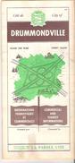 Cite De Drummondville  City Of Drummondville, Quebec, Canada - Tourism Brochures