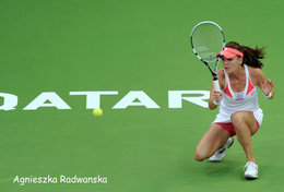 [ T95-009   ]  Agnieszka Radwańska , Poland Tennis Player , China Pre-stamped Card, Postal Stationery - Tennis