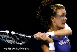 [ T95-010   ]  Agnieszka Radwańska , Poland Tennis Player , China Pre-stamped Card, Postal Stationery - Tennis