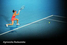 [ T95-015   ]  Agnieszka Radwańska , Poland Tennis Player , China Pre-stamped Card, Postal Stationery - Tennis