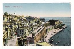 MALTA  /  OLD  BARRIERA  /  Cachets : MARINE NATIONALE - SERVICE à LA MER + POSTES NAVALES - MEDITERRANEE ORIENTALE - Malte