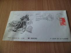 Lettre Num. Le 13/02/1984 Premier Jour De La Famme Brou Championnat Du Monde De Moto-cross N° 2277  TB