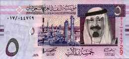 ARABIE SAOUDITE 5 RIYAL De 2007  Pick 32a   UNC/NEUF - Saudi Arabia