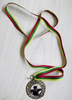 Archery Shooting Sport Medal From Lithuania Cup 2006 Believing That The Bow Has A Soul... 1st Place - Tiro Con L'Arco