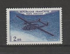 FRANCE / 1960-1964 / Y&T PA N° 38 ** : Noratlas 2F Brun-noir Et Outremer - Gomme D´origine Intacte
