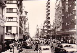 AFRIQUE DU SUD - JOHANNESBURG - PRITCHARD STREET - CARTE POSTALE PAR AVION POUR LA SUISSE 11-1-1958 - Afrique Du Sud (1961-...)