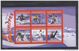 Olympische Spelen  2012 , Comoren - Blok  Postfris